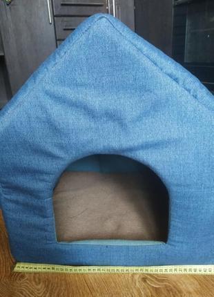 Об'ємний будиночок  домик лежанка домік хатка для тварин