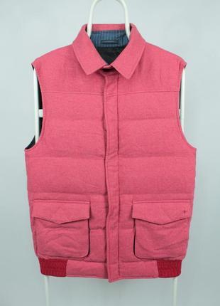 Премиальная пуховая жилетка lorenz bach down vest