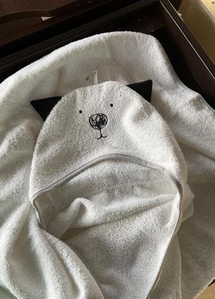 Рушник для купання / полотенце детское