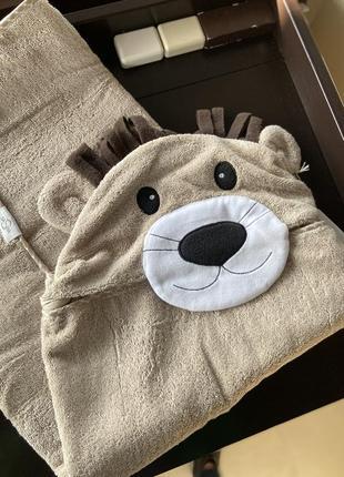 Рушник дитячий для купання / детское полотенце