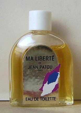 Jean patou ma liberte - edt - 6 мл. орігінал.вінтаж