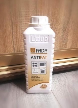 """засіб очищуючий для видалення пригорілого жиру """"фада анти жир (fada anti fat)"""", 1 л"""