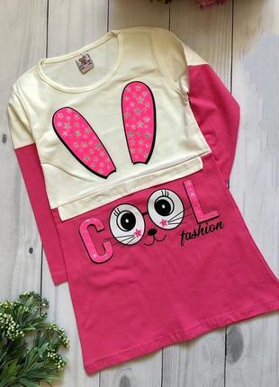 Детское платье турция зайчик