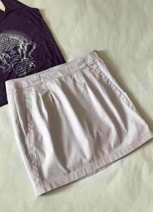 Короткая юбка esprit,💯 % коттон,40-42💕