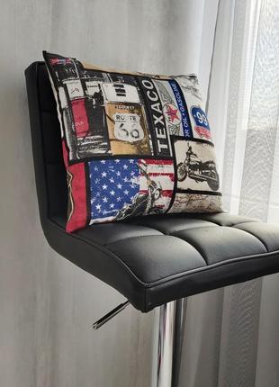 Декоративная подушка route66 var4