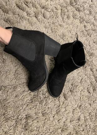 Туфлі ботинки бершка