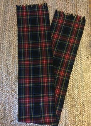 Суперский шерстяной шарф из шотланской шерсти от dress stewart англия