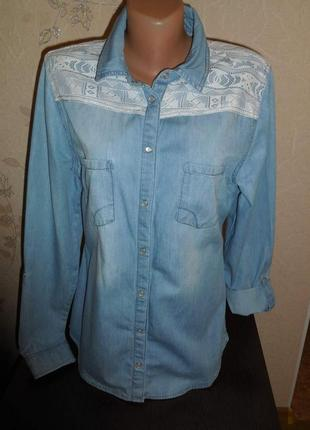 Рубашка *tally weijl*,  р. м-l (46-48)