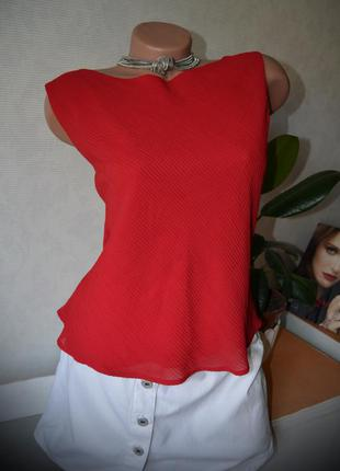 Блуза m&s, гофре впереди, m, на все вещи снижена цена!