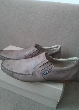 Туфли кожаные italy