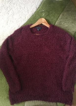 Модный свитер травка пушистый