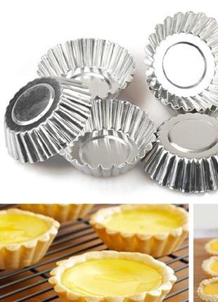 Формы для выпечки кексов большие и маленькие