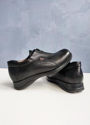 Туфли кожаные hasten