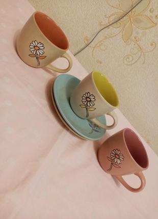 Чайный сервиз чашка блюдечко блюдце