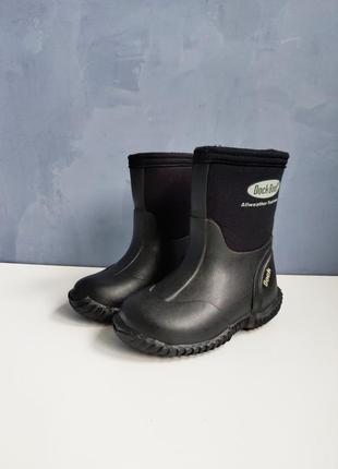 Детские резиновые сапоги dock boot дождя, мокрого снега