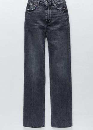 🖤широкие джинсы zara