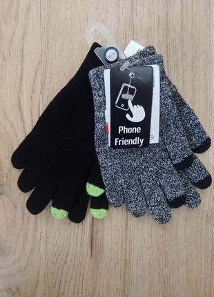 Комплект перчаток с сенсорными пальцами