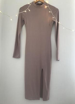 Облегающее платье1 фото
