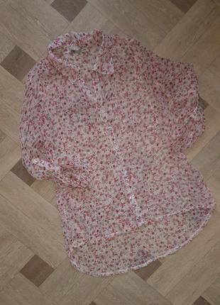 Рубашка в цветочки dnn