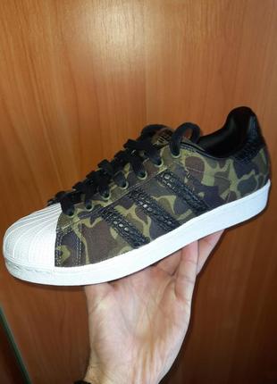 Кроссовки adidas super star camo military, оригинал, 40 2/3 размер
