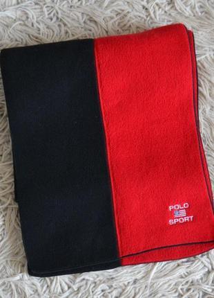 Винтажный шарф polo sport ralph lauren