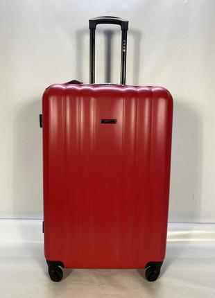 Чемодан 614-l (большой) красный