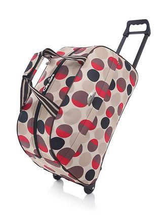 Дорожня сумка на колесах