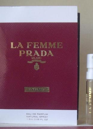 Prada la femme intense - edp - 1.5 мл. spray оригінал.