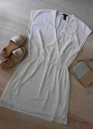 H&m шифоновое платье туника - р.38