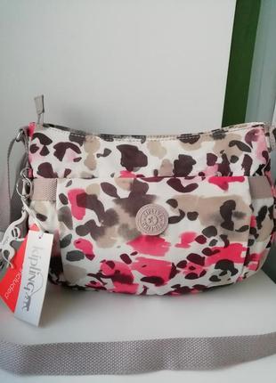 Нова фірмова бельгійська багатофункціональна сумка кросбоді kipling!!! оригінал!!