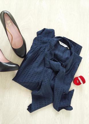Классическая блуза из натурального шелка  eur.40