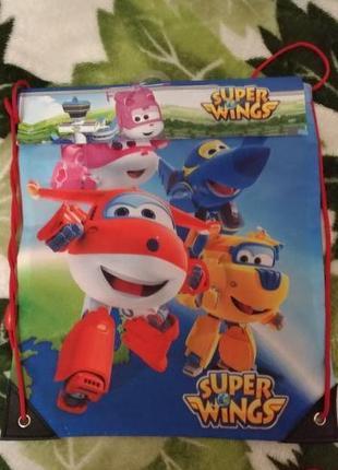 Рюкзачки-сумочки super wings дисней