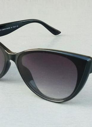 Jimmy choo очки женские солнцезащитные черные с градиентом