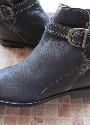 Ботинки legend & soul кожа женские длина по стельке 27,7 см 41 размер