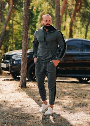 Мужской спортивный костюм asos! демисезонный чоловічий! кофта с капюшоном и штаны!