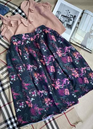 Женственная юбка миди