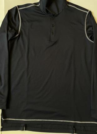Adidas golf лонгслив термо спортивная кофта реглан пуловери
