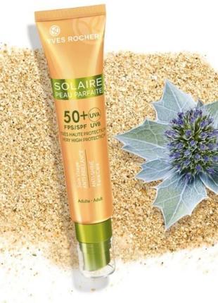Читайте описание!матирующий крем для лица с spf 50 solaire peau parfaite