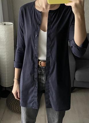 Удлиненная базовая рубашка cos