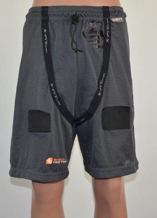 Спортивные, сетчатые трусы shock doctor (m) есть место под ракушку