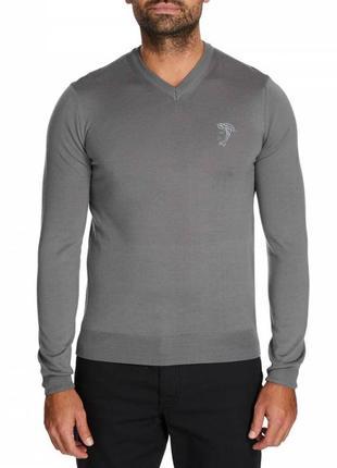 Оригинальный стильный свитер versace