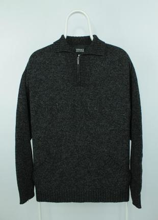 Оригинальный шерстяной свитер versace jeans couture wool sweater