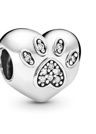 Шарм pandora «любимый питомец» серебро 925
