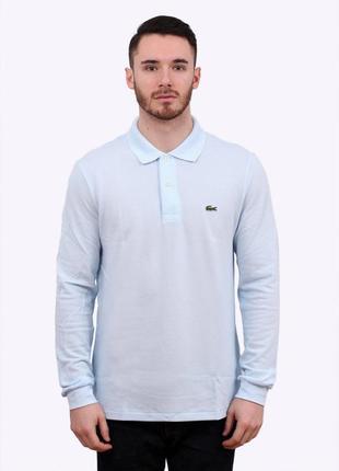 Оригинальный винтажный лонгслив lacoste vintage longsleeve polo shirt