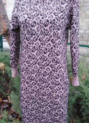 Классное стильное платье в принт лео