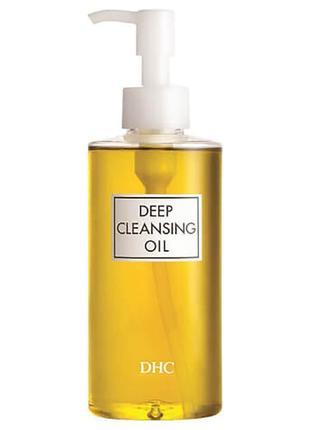 Гидрофильное масло dhc deep cleansing oil 200 мл