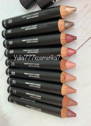 Помада в карандаше kiko pencil lip gloss