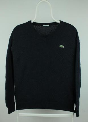Оригинальный винтажный свитер lacoste
