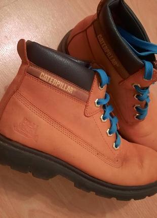 Крутые ботинки натуральный нубук и кожа