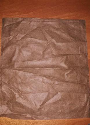 Пыльник, органайзер для хранения, мешок, мешочек для мелочей спанбонд, мішок для взуття
